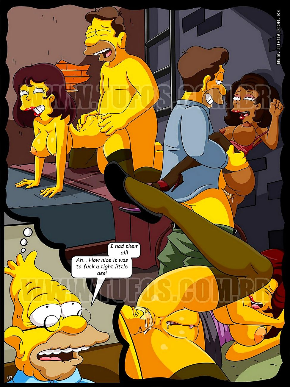 Simpsons hentai the The Simpsons